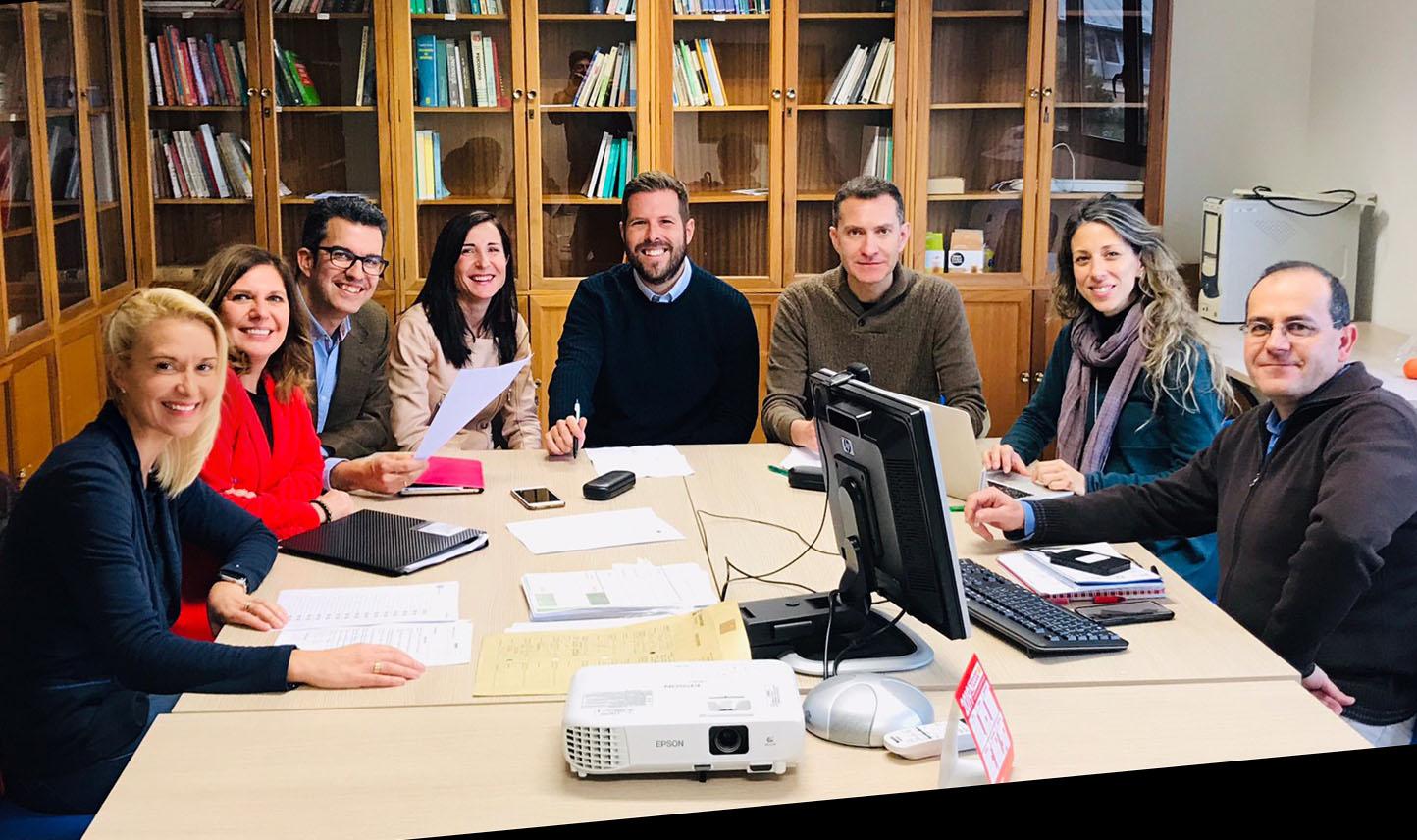 Reunion Grupo de investigacion ana rodriguez educacion