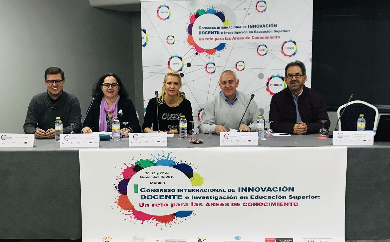 congreso innovacion docente Madrid